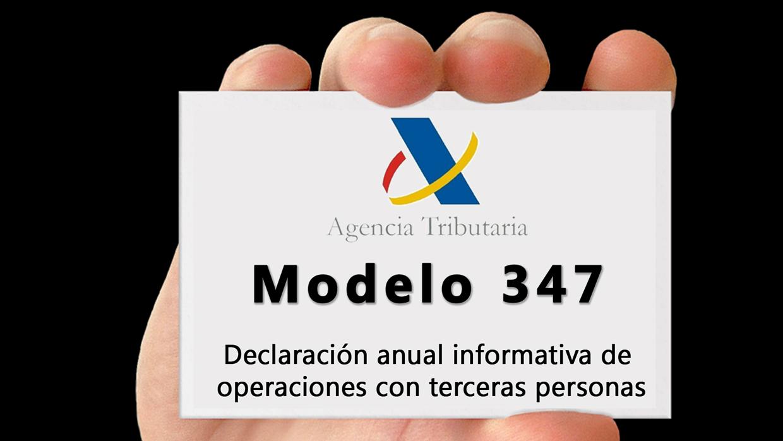 Modelo 347